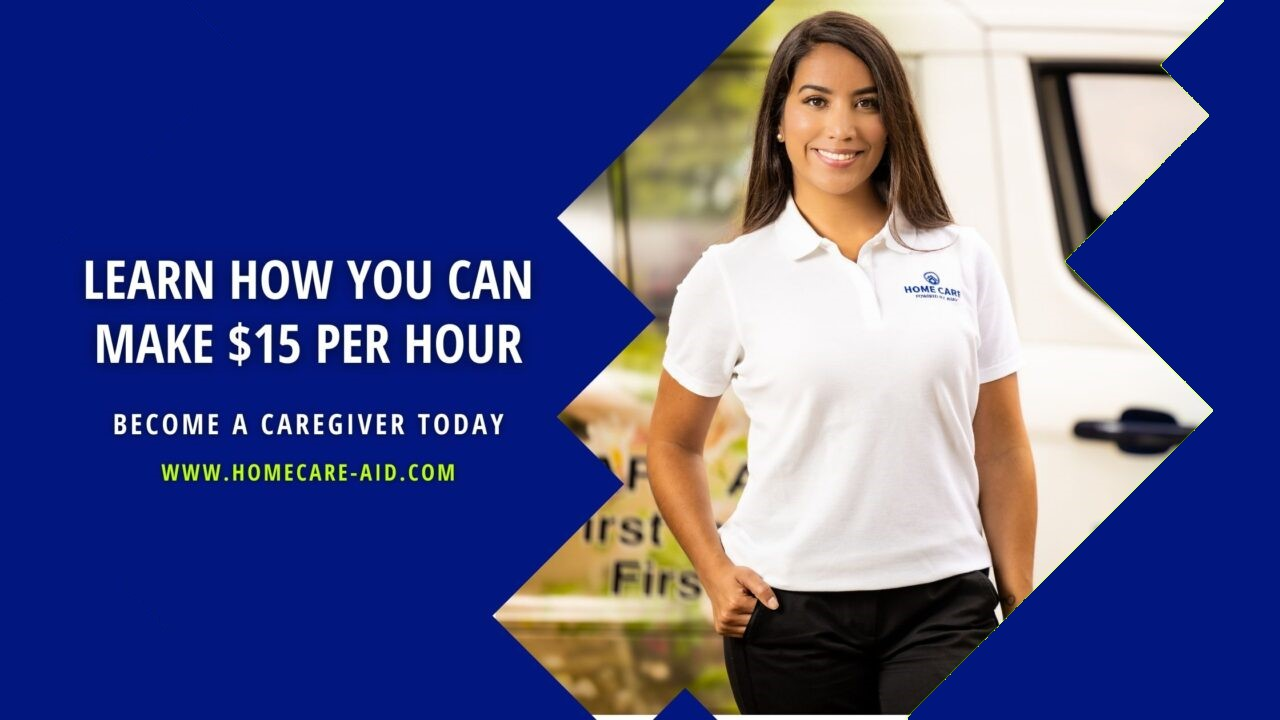 BECOME A CAREGIVER_EARN 15 PER HOUR