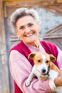 seniors with pets and home care