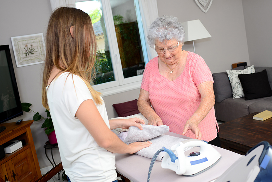 Laundry Assistance - Senior Home Care