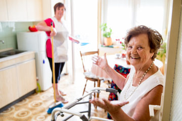 Light Housekeeping Assistance - Senior Home Care