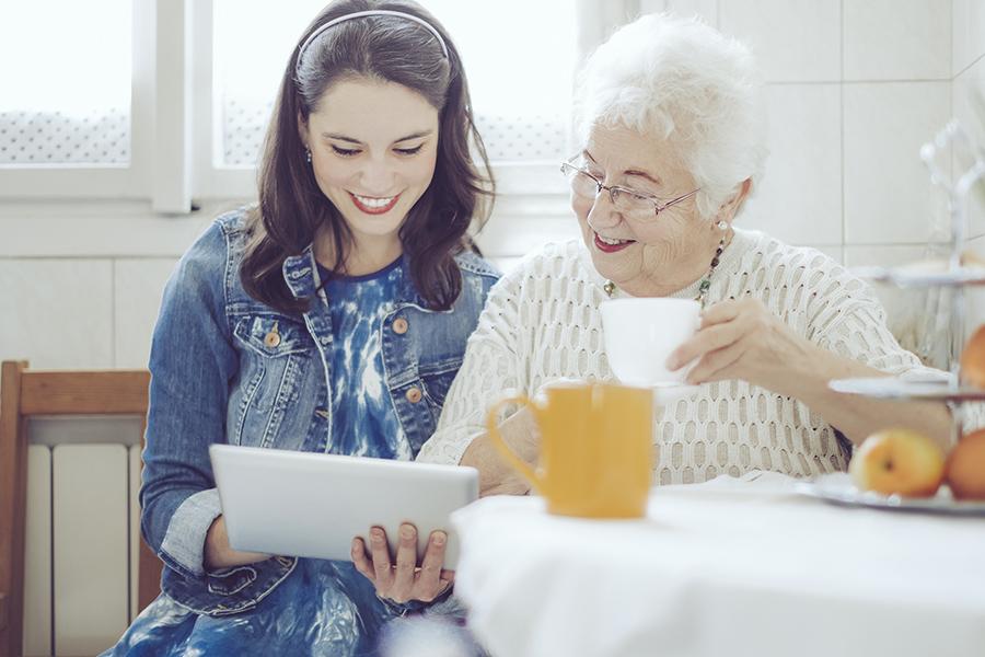 Organization & Technology Assistance - Senior Home Care